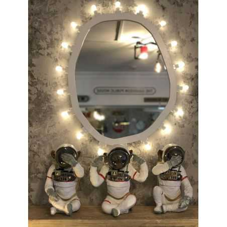 Space Monkeys See No Evil Set Of 3 Retro Ornaments  £ 188.00 Store UK, US, EU, AE,BE,CA,DK,FR,DE,IE,IT,MT,NL,NO,ES,SE