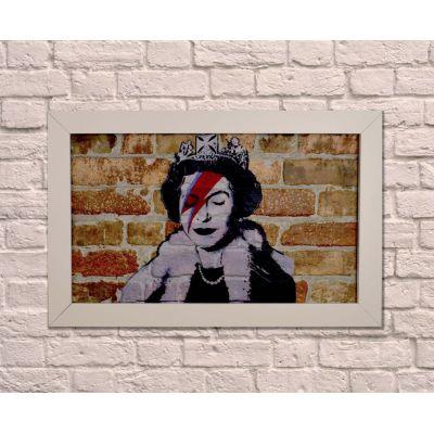 Queen Bowie Wall Art Vintage Wall Art £ 98.00 Store UK, US, EU, AE,BE,CA,DK,FR,DE,IE,IT,MT,NL,NO,ES,SE