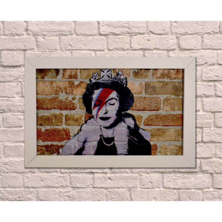 Queen Bowie Wall Art Vintage Wall Art £ 98.00 Store UK, US, EU, AE,BE,CA,DK,FR,DE,IE,IT,MT,NL,NO,ES,SE