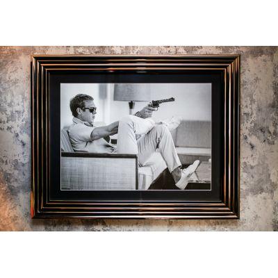 Steve McQueen Framed Art