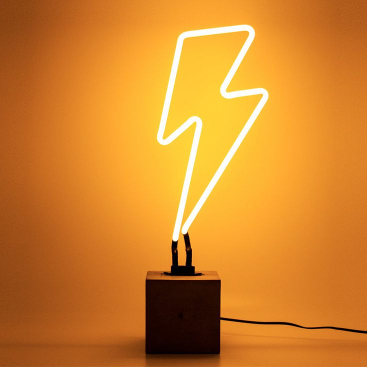 Neon Lightning Bolt Vintage Lighting £ 55.00 Store UK, US, EU, AE,BE,CA,DK,FR,DE,IE,IT,MT,NL,NO,ES,SE