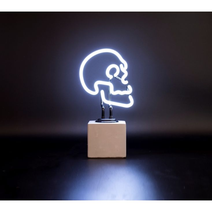 Skull Neon Light Vintage Lighting Smithers of Stamford £ 64.00 Store UK, US, EU, AE,BE,CA,DK,FR,DE,IE,IT,MT,NL,NO,ES,SE