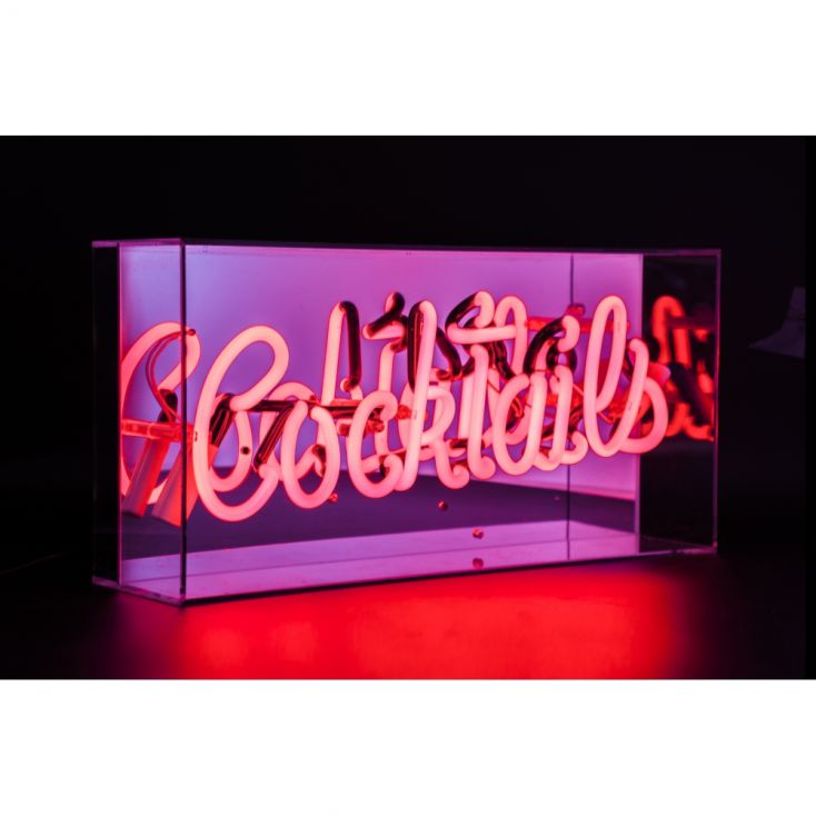 Cocktails Neon Sign Vintage Lighting Smithers of Stamford £ 99.00 Store UK, US, EU, AE,BE,CA,DK,FR,DE,IE,IT,MT,NL,NO,ES,SE