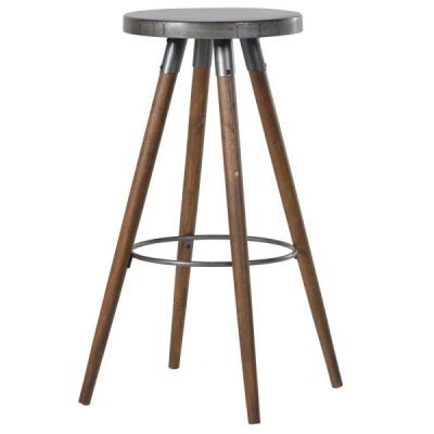 Metal Top Bar Stools