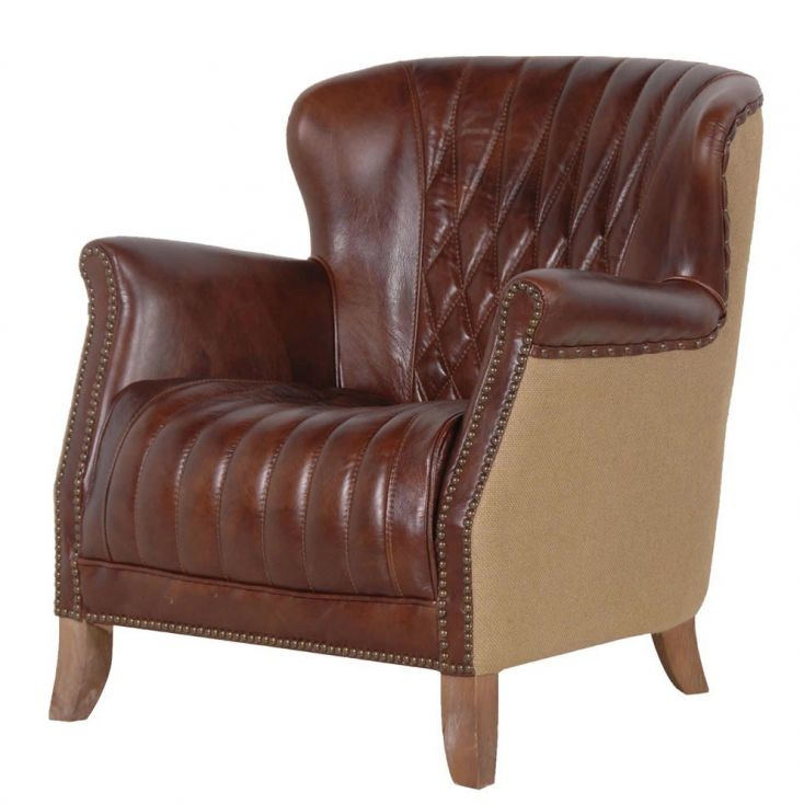 Brown Leather Armchair Sofas and Armchairs Smithers of Stamford 1,100.00 Store UK, US, EU, AE,BE,CA,DK,FR,DE,IE,IT,MT,NL,NO,E...