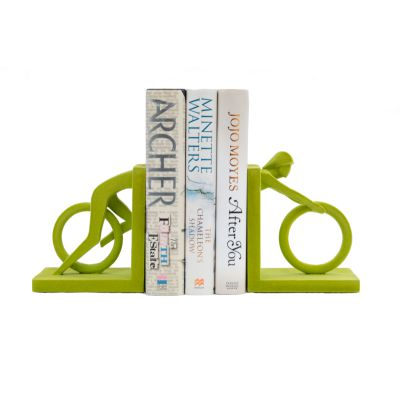 Green Cycle Bookends