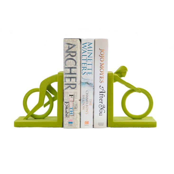 Green Cycle Bookends Retro Gifts £ 42.00 Store UK, US, EU, AE,BE,CA,DK,FR,DE,IE,IT,MT,NL,NO,ES,SE
