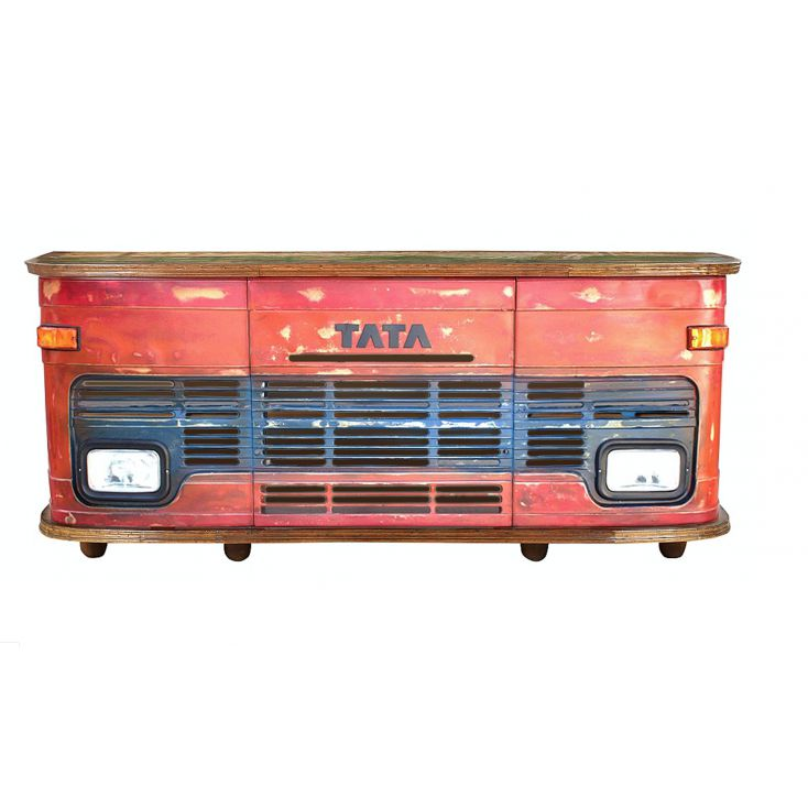 Red Truck Bar Counter Reclaimed Wood Furniture Smithers of Stamford 2,950.00 Store UK, US, EU, AE,BE,CA,DK,FR,DE,IE,IT,MT,NL,...