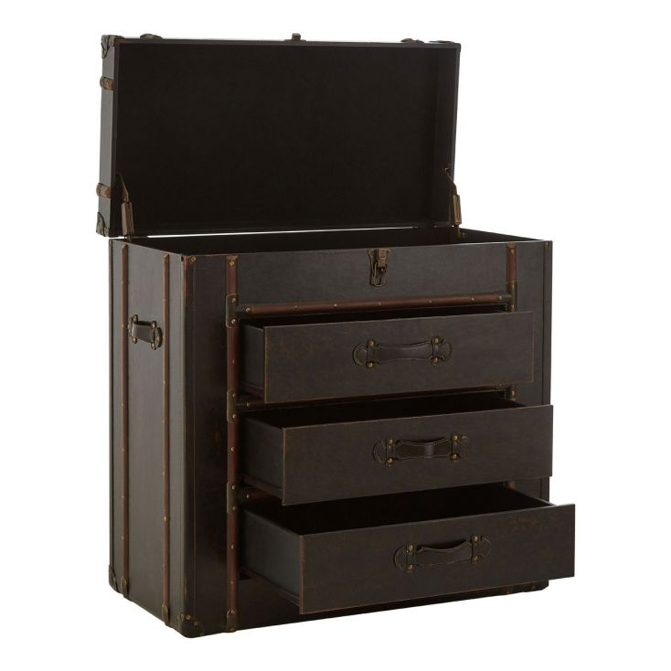 Steamer Trunk Chest Of Drawers Vintage Furniture Smithers of Stamford £ 472.00 Store UK, US, EU, AE,BE,CA,DK,FR,DE,IE,IT,MT,N...