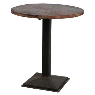 Reclaimed Factory Bar Table