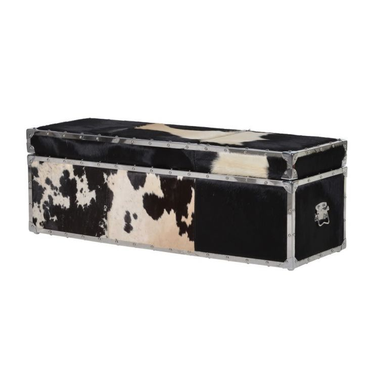 Cowhide Trunk Trunk Chests Smithers of Stamford £ 959.00 Store UK, US, EU, AE,BE,CA,DK,FR,DE,IE,IT,MT,NL,NO,ES,SE