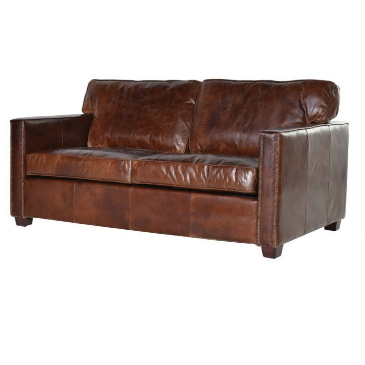 Dark Brown Leather Sofa Designer Furniture Smithers of Stamford £ 2,270.00 Store UK, US, EU, AE,BE,CA,DK,FR,DE,IE,IT,MT,NL,NO...