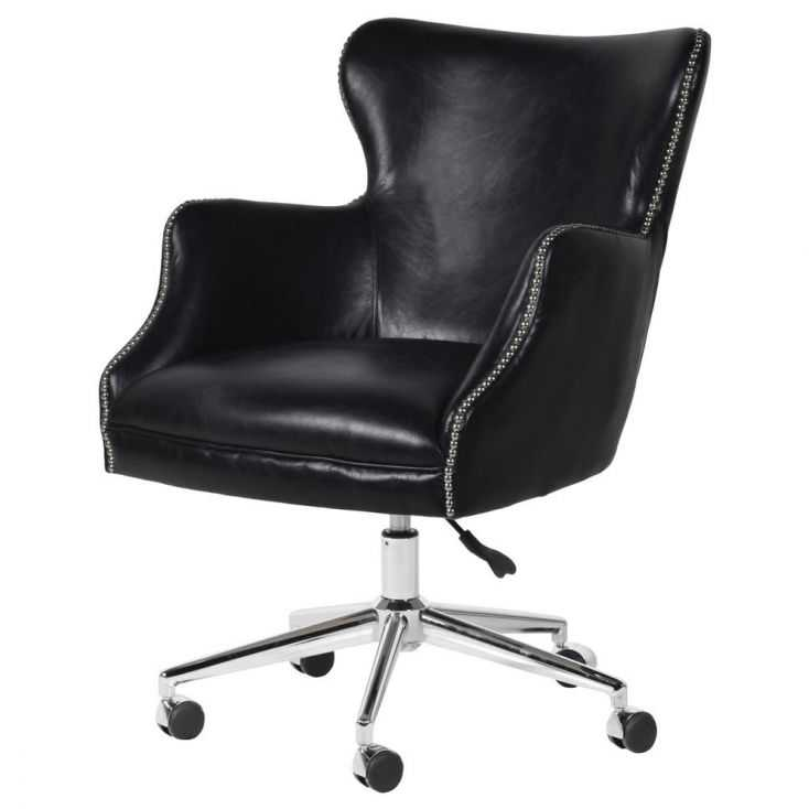 Black Leather Office Chair Vintage Furniture Smithers of Stamford £1,053.00 Store UK, US, EU, AE,BE,CA,DK,FR,DE,IE,IT,MT,NL,N...