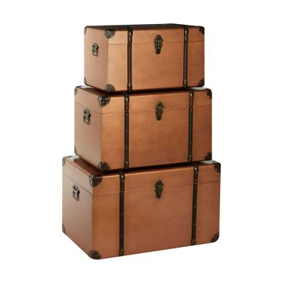 Hawker Copper Storage Trunks