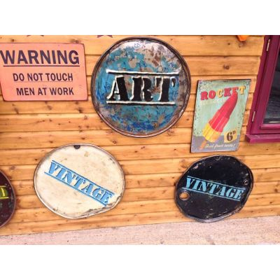 Drum Wall Art Vintage Wall Art Smithers of Stamford £ 148.00 Store UK, US, EU