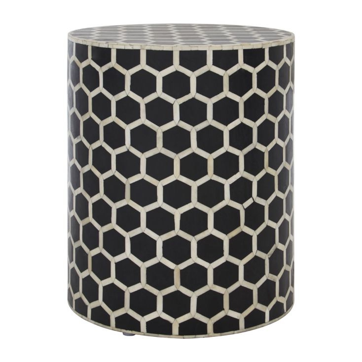 Black And White End Side Table Side Tables & Coffee Tables £ 420.00 Store UK, US, EU, AE,BE,CA,DK,FR,DE,IE,IT,MT,NL,NO,ES,SE