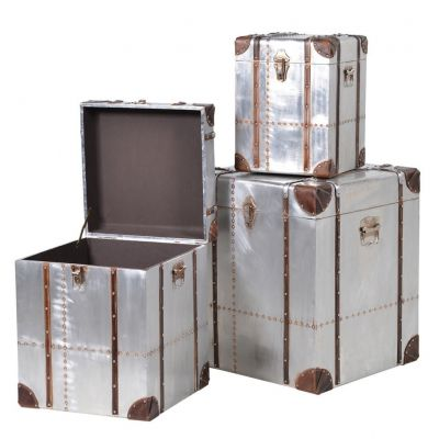 Hawker Industrial Metal Trunks