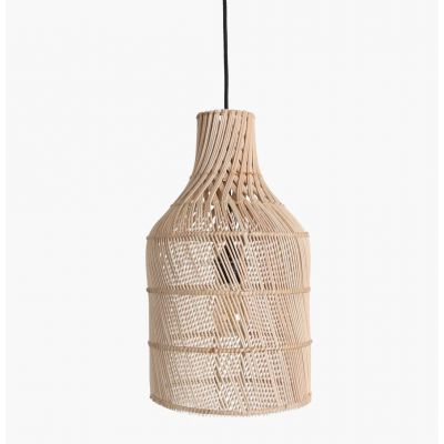 Rattan Bottle Pendant Ceiling Lamp