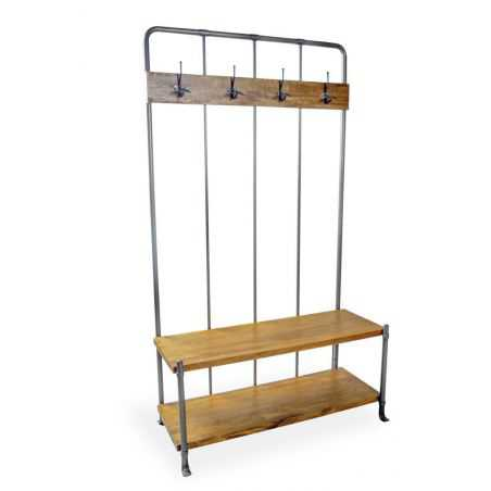 Vintage Entryway Coat Rack And Bench Seat Storage Furniture Smithers of Stamford £ 650.00 Store UK, US, EU, AE,BE,CA,DK,FR,DE...