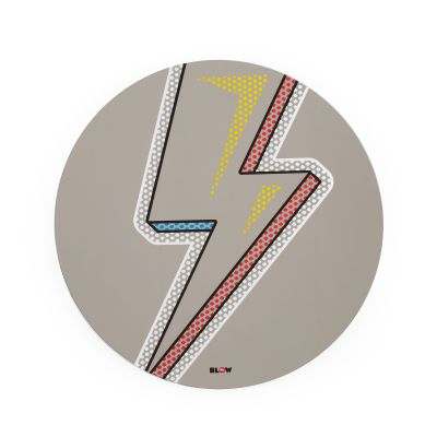 David Bowie Lightning Bolt Mirror