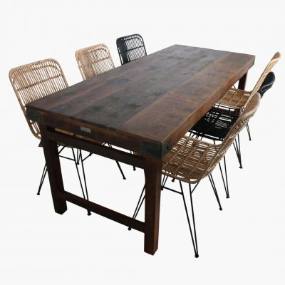 Industrial Reclaimed Wood Dining Tables