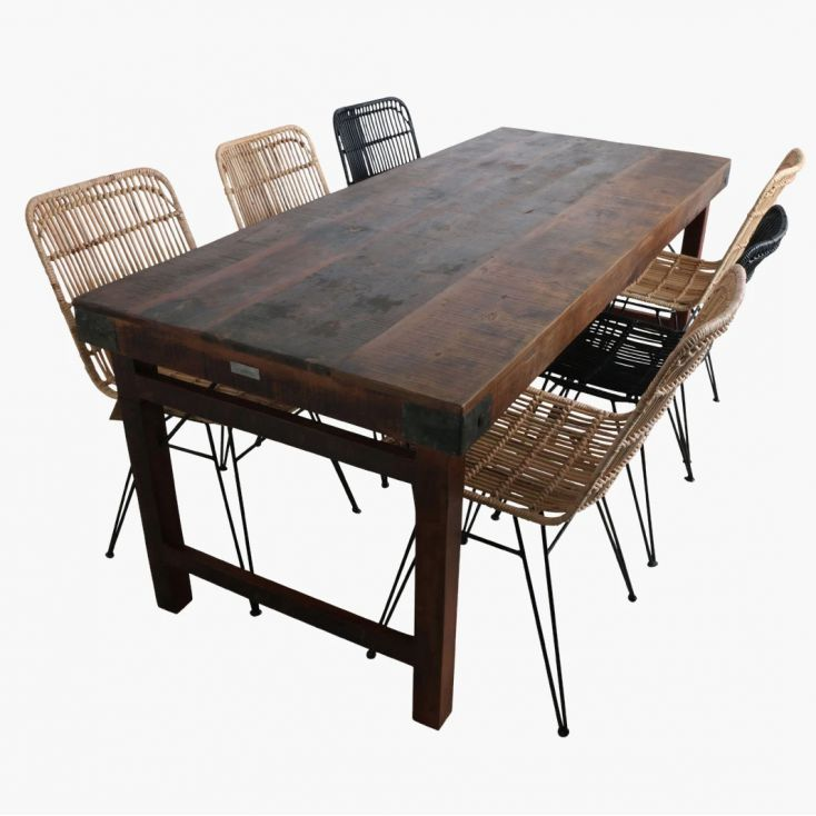 Industrial Reclaimed Wood Dining Tables Dining Tables Smithers of Stamford £ 676.00 Store UK, US, EU, AE,BE,CA,DK,FR,DE,IE,IT...