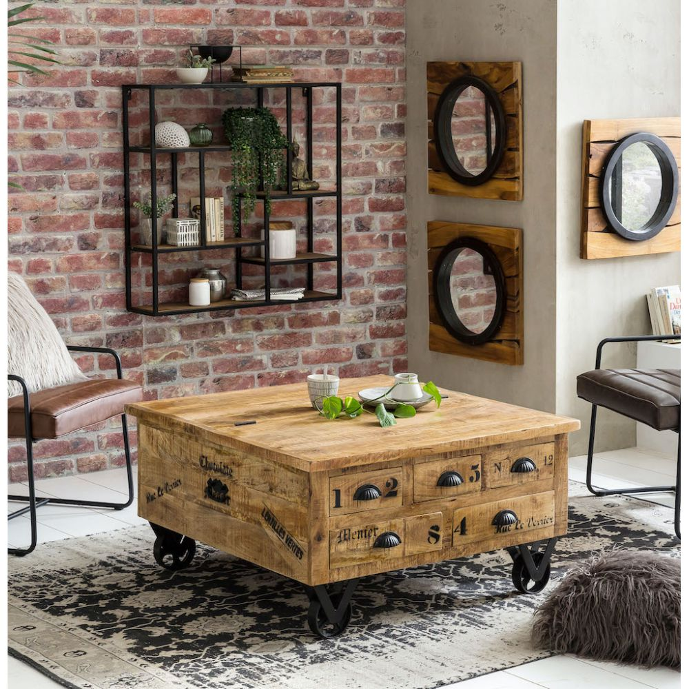 - Coffee Table Trunk