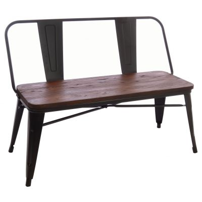 Industrial Style Bench Seat