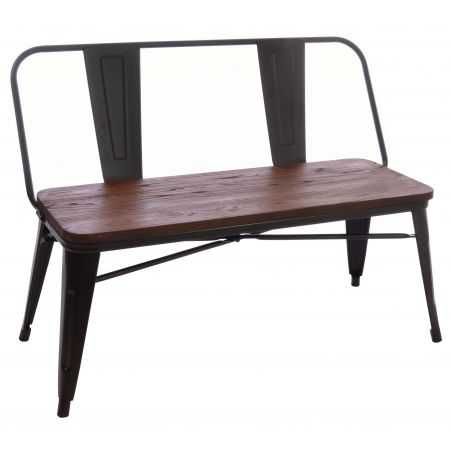 Industrial Style Bench Seat Outdoor Furniture Smithers of Stamford £ 240.00 Store UK, US, EU, AE,BE,CA,DK,FR,DE,IE,IT,MT,NL,N...