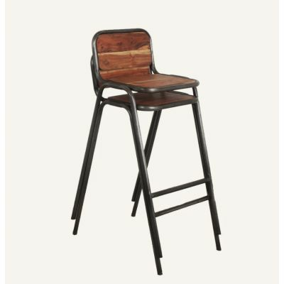 Loft Industrial Stackable Bar Stools