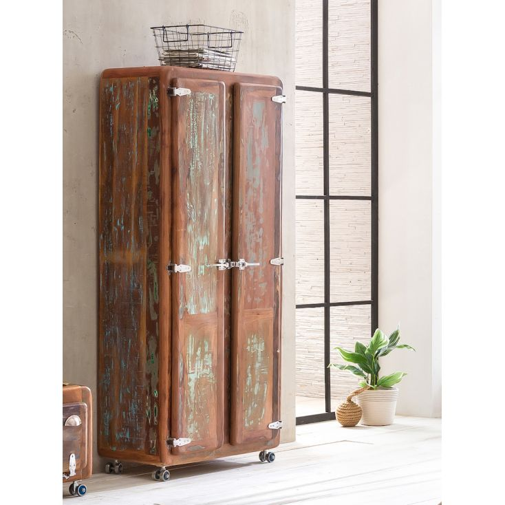 Reclaimed Wood Wardrobe Bedroom Smithers of Stamford 2,000.00 Store UK, US, EU, AE,BE,CA,DK,FR,DE,IE,IT,MT,NL,NO,ES,SE