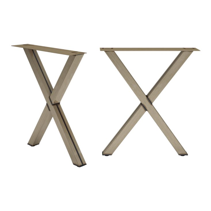 Cross X Frame Table Legs Dining Tables Smithers of Stamford £ 293.00 Store UK, US, EU, AE,BE,CA,DK,FR,DE,IE,IT,MT,NL,NO,ES,SE
