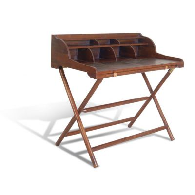 Leather Top Wooden Writing Desk