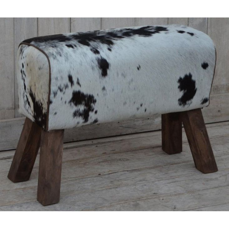 Cowhide And Leather Pommel Bench Vintage Furniture Smithers of Stamford £ 159.00 Store UK, US, EU, AE,BE,CA,DK,FR,DE,IE,IT,MT...