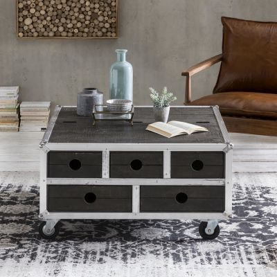Roadie Coffee Table Trunk