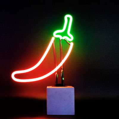 Chili Pepper Neon Light