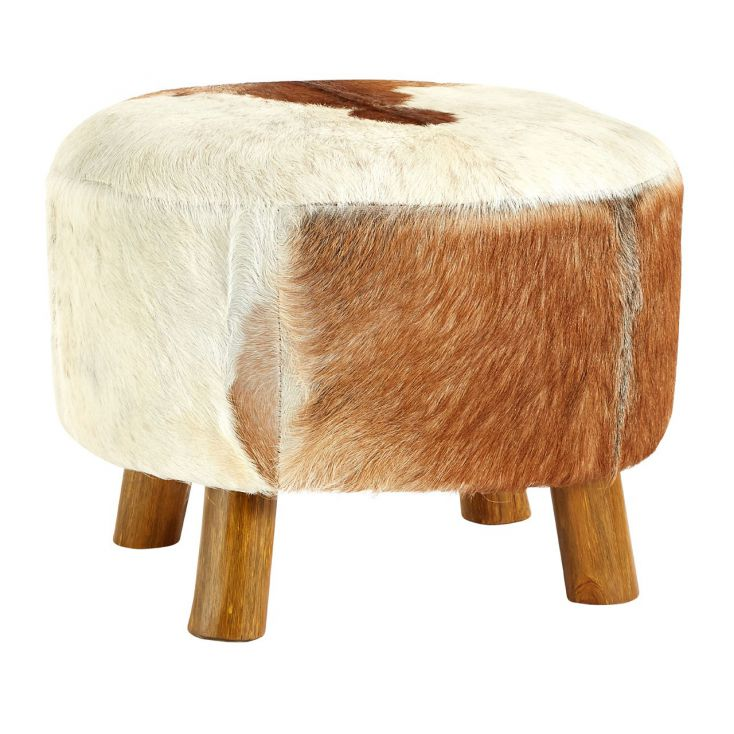 Goats Hide Poof Foot Rest Designer Furniture Smithers of Stamford £ 273.00 Store UK, US, EU, AE,BE,CA,DK,FR,DE,IE,IT,MT,NL,NO...