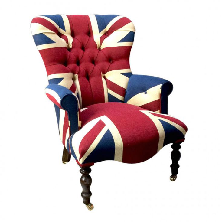 Union Jack Armchair Designer Furniture Smithers of Stamford £ 720.00 Store UK, US, EU, AE,BE,CA,DK,FR,DE,IE,IT,MT,NL,NO,ES,SE