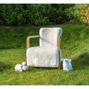 Sheepskin Armchair