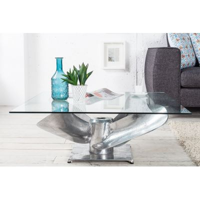 Airplane Propeller Coffee Table