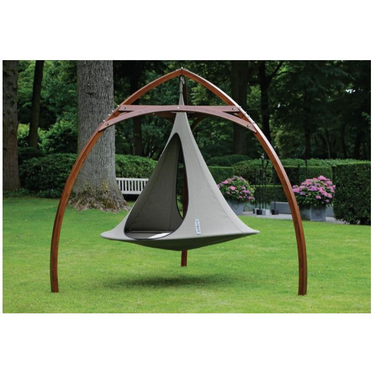 Cacoon Wood Tripod Outdoor Furniture Cacoon £ 448.50 Store UK, US, EU, AE,BE,CA,DK,FR,DE,IE,IT,MT,NL,NO,ES,SE