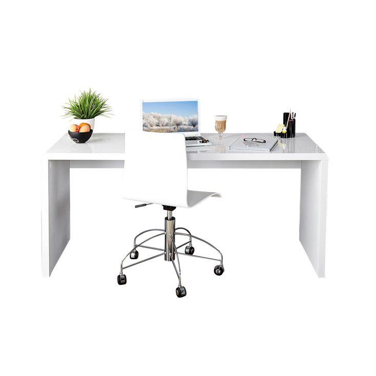 White Home Office Desk Designer Furniture Smithers of Stamford £ 350.00 Store UK, US, EU, AE,BE,CA,DK,FR,DE,IE,IT,MT,NL,NO,ES,SE