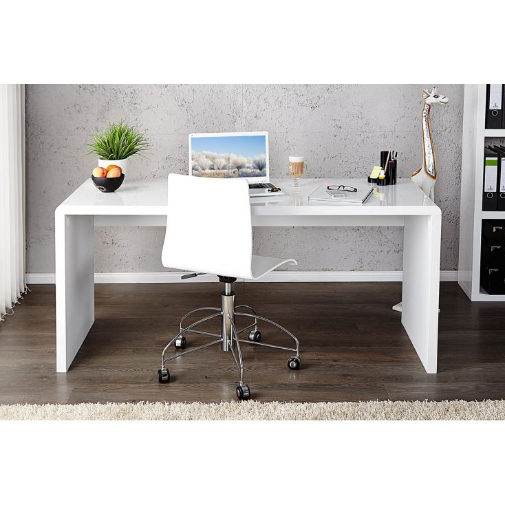 White Home Office Desk Designer Furniture Smithers of Stamford £ 499.00 Store UK, US, EU, AE,BE,CA,DK,FR,DE,IE,IT,MT,NL,NO,ES,SE