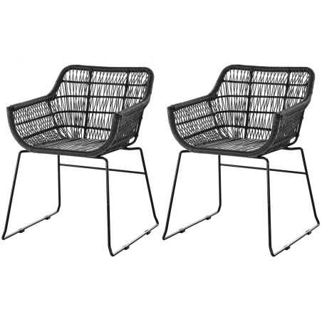 Garden Rattan Chair X2 Set Garden Smithers of Stamford £ 378.00 Store UK, US, EU, AE,BE,CA,DK,FR,DE,IE,IT,MT,NL,NO,ES,SE