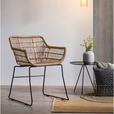 Garden Rattan Chair X2 Set