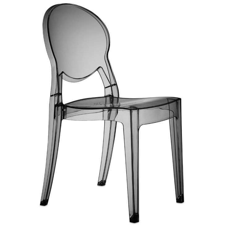 Transparent Ghost Crystal Dining Chair Retro Furniture Smithers of Stamford £ 199.00 Store UK, US, EU, AE,BE,CA,DK,FR,DE,IE,I...