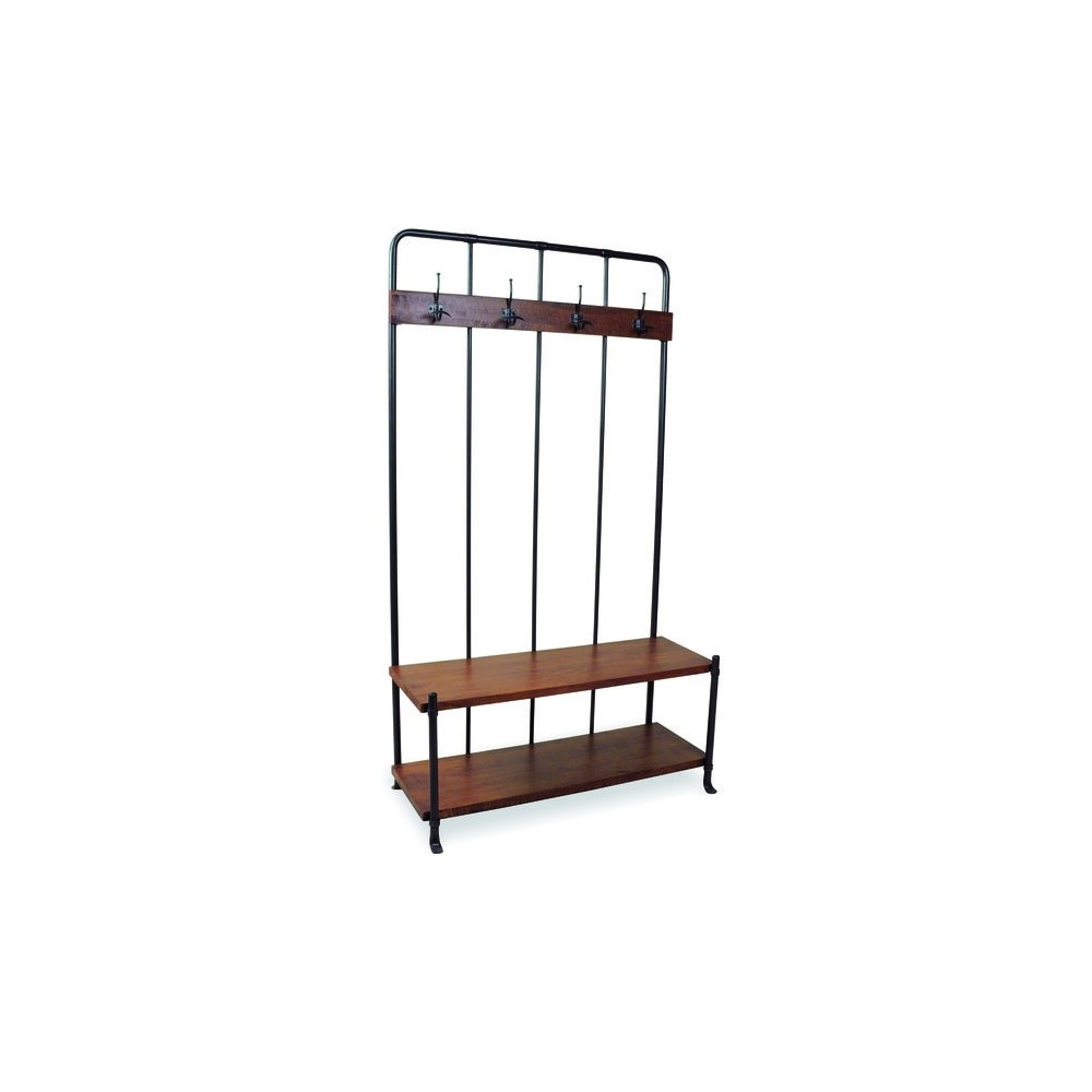 Vintage Entryway Coat Rack And Bench Seat Storage Furniture Smithers Of Stamford 490 00 Uk