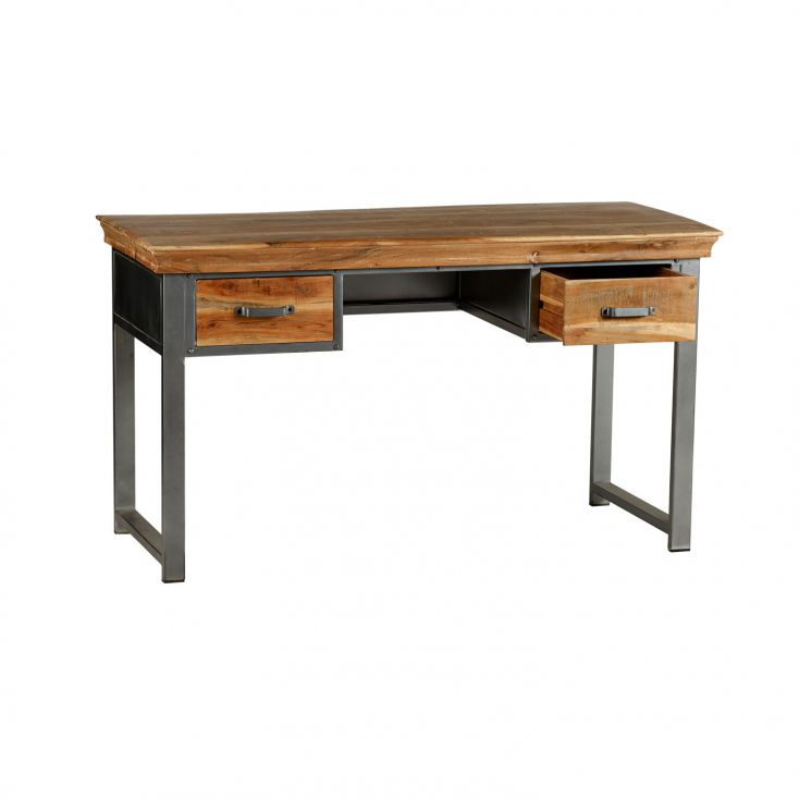 Rustic Industrial Office Desk Reclaimed Wood Furniture Smithers of Stamford £ 575.00 Store UK, US, EU, AE,BE,CA,DK,FR,DE,IE,I...