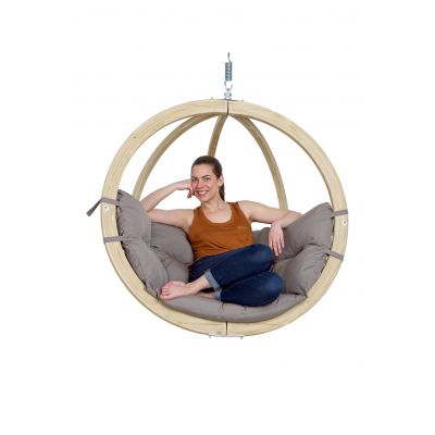 Single Seat Globe Hanging Chair