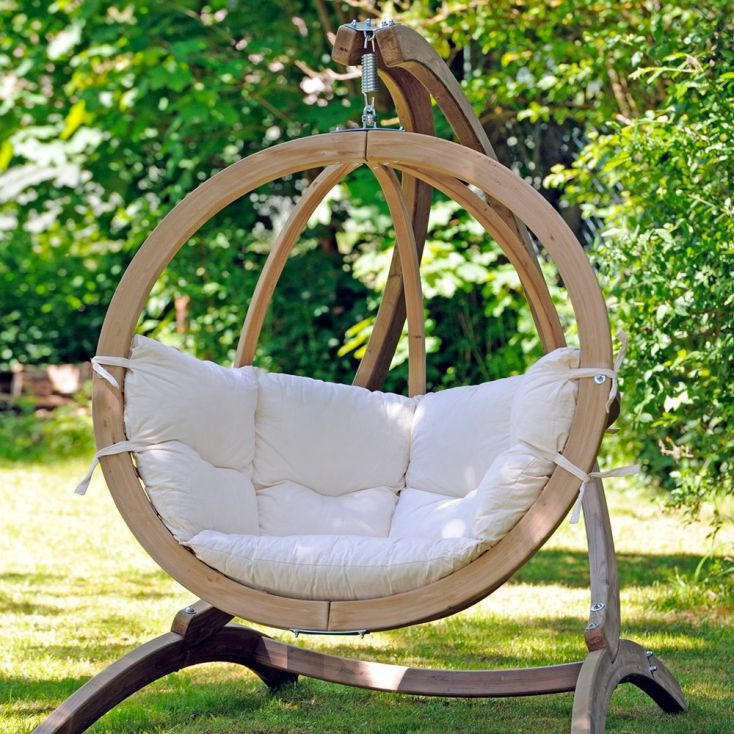 Luxury Globe Pod Designer Garden Swing Chairs